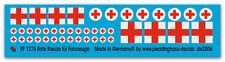 Peddinghaus  1275 1/35 Rote Kreuze für Fahrzeuge