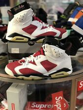 483ff7ad193e8d 2008 Nike Air Jordan 6 VI Retro CDP Size 13 Carmine Red OG 322719-161