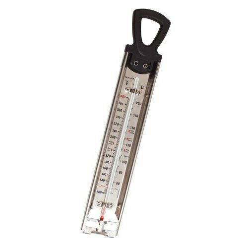 Kitchen Craft Cooking THERMOMETER Steel 60to220c Jam//Sugar//Deep Frying 30cm 0143