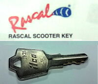 Key For Rascal Scooter Fits All Model 600t 600f