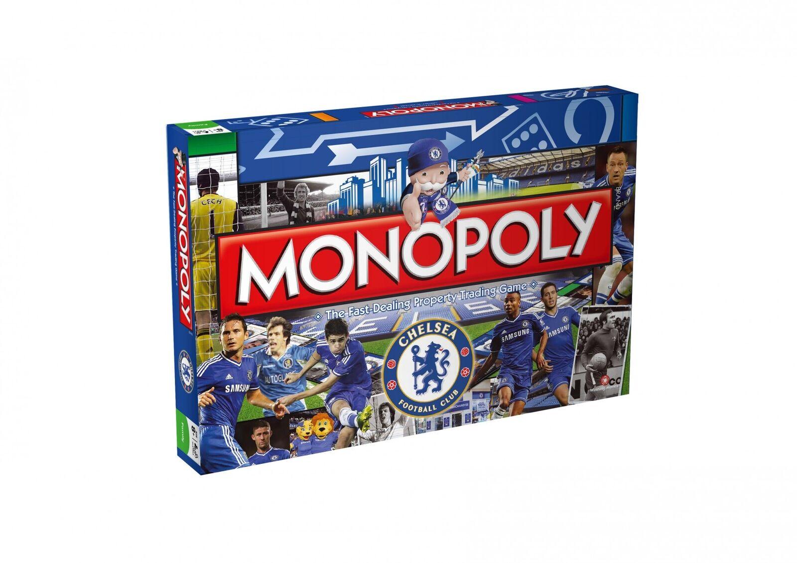 Monopol chelsea fc ausgabe deutsch gesellschaftsspiel brettspiel spiel neu