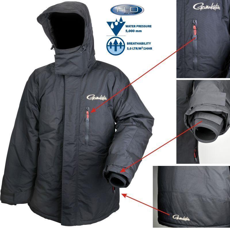 GAMAKATSU Thermal Jacket Tg. XXL GIACCA 5000mm colonna d'acqua per tuta Termo KVA