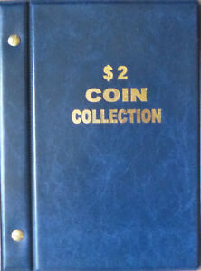 VST-AUSTRALIAN-COIN-ALBUM-for-2-COLLECTION-1988-to-2016-MINTAGES-NEW-EDITION
