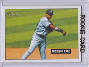 ROBINSON CANO ROOKIE CARD Bowman HERITAGE BASEBALL RC M's New York Yankees