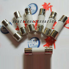 100PCS 13A 250V Fuses 13 Amp Ceramic Fuse Fast-blow Quick 5mm x 20mm F13AL250V