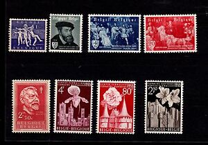 Belgium Stamps 1955 Year Ebay