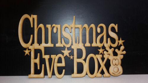 Mdf Christmas Eve Box Topper 25cm x 15cm 4mm Medite Premier Mdf Multi Listing