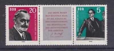893-894 80 Dimitrow EntrüCkung Ddr 1962 Postfrisch Minr Geburtstag Von Georgi M