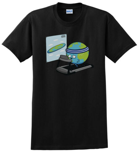 Round Earth Fitness Goal Men/'s Funny T-Shirt