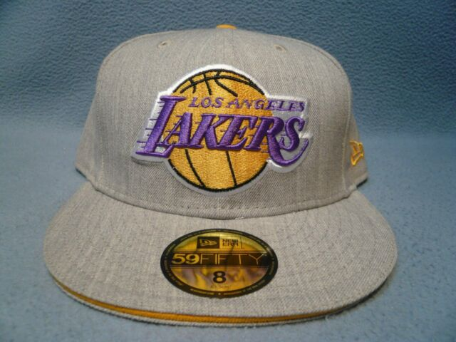 New Era 59Fifty Cap NBA Los Angeles Lakers Mens Kobe Jersey Purple Fitted Hat
