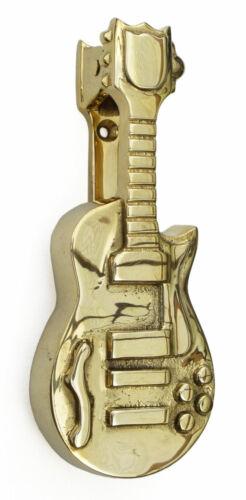 rapper decorative knockers Large Solid Brass Electric Guitar Door Knocker