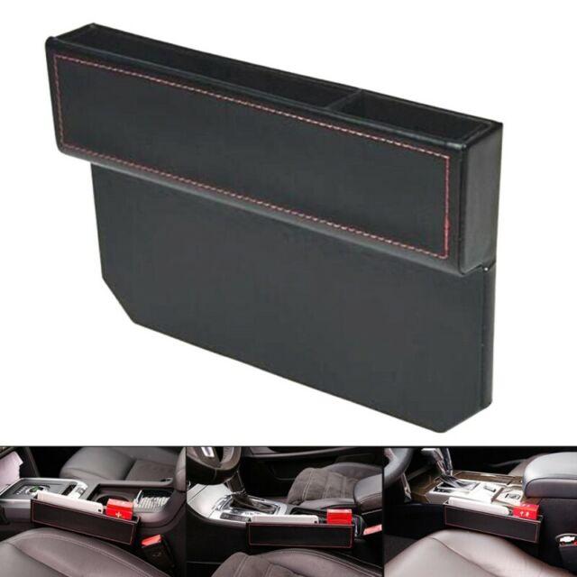 1* Car Seat Gap Filler Car Seat Side Console Slit Caddy Catcher Storage Box Tool