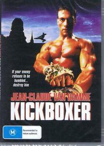 KICKBOXER-Starring-Jean-Claude-Van-Damme-DVD-NEW-amp-SEALED-Free-Post