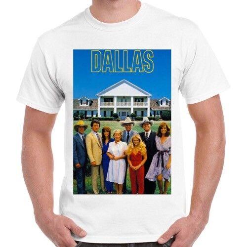 Dallas 80s Classic Tv Series J R Cool Gift Vintage Retro T Shirt 418