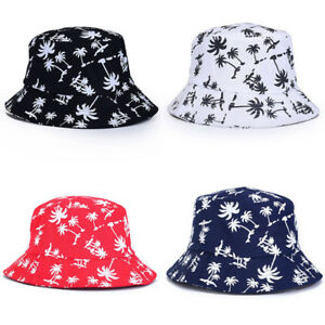 Image is loading New-Unisex-Bucket-Hat-Boonie-Hunting-Fishing-Outdoor- 7f8e0b69effb