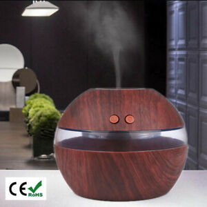 300ml Ultraschall Luftbefeuchter Aroma Diffuser Aromatherapie LED Duftlampe