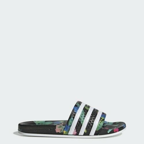 Adidas EE4853 Women slippers Adilette sandals black white