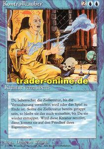 Kontrollzauber Control Magic Magic limited black bordered german beta fbb fore