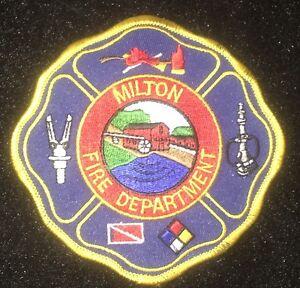 """3 1//4/"""" x 4 1//2/"""" Virginia Tasley Volunteer Fire Dept Patch"""