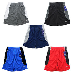 Reebok-RBK-Men-039-s-Mesh-Two-Tone-Active-Athletic-Training-Gym-Performance-Shorts