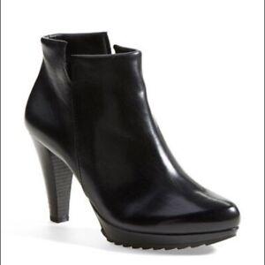 PAUL-GREEN-Alexa-Ankle-Boots-Hign-Heel-Bootie-Black-9-5-US