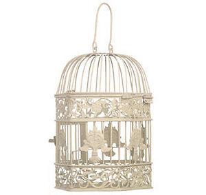 New-Hexagonal-Vintage-Style-Cream-Birdcage-Ceiling-Lamp-Light-Shade-Lampshade
