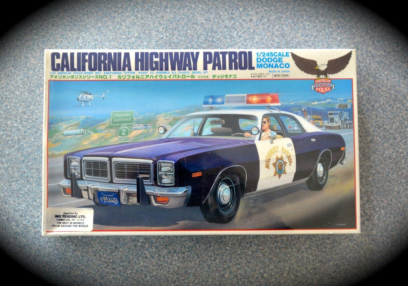 Jodeln california highway patrol dodge monaco vintage - motor - 1   24 - nib