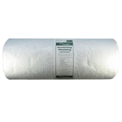 """Guata de bateo//Resistente Al Calor Aislantes-yarda 1 X 22/"""" de ancho por Sew simple"""