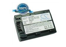 7.4V battery for Sony DCR-SR55E, DCR-HC37, DCR-SR90E, DCR-DVD653E, DCR-SR50, DCR