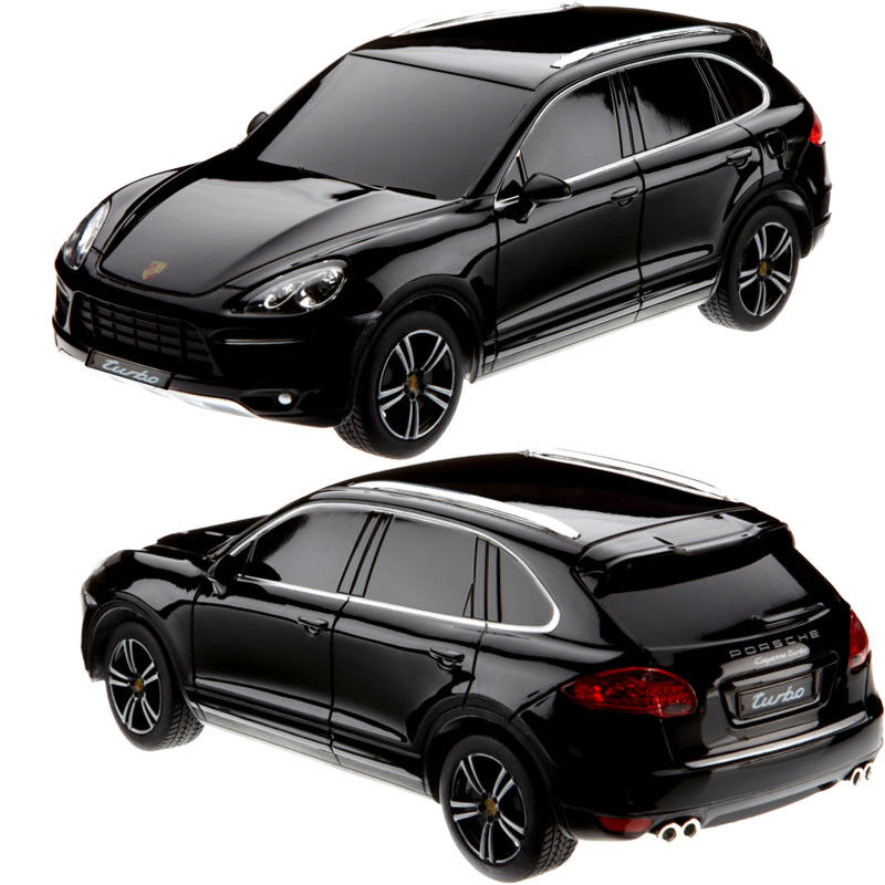 RC Radio Remote Controlled Porsche Cayenne Turbo with Light   1 24 Model Car Wow