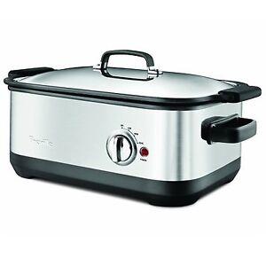 Breville-BSC560REF-Slow-Cooker-7-Quart-Refurbished
