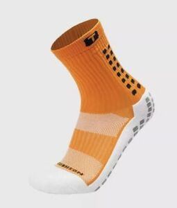 4331e8dc7bb7 Image is loading Trusox-Mid-Calf-Crew-Cushion-Soccer-Socks-Orange