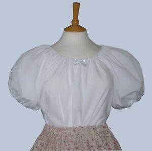 Ladies-Victorian-American-Civil-War-short-sleeve-blouse-10-32