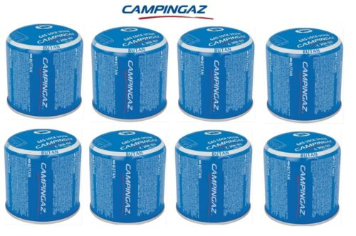 BOMBOLETTA CARTUCCIA CARTUCCE C206 GLS CAMPINGAZ GAS BUTANO *** 8 PEZZI  ***