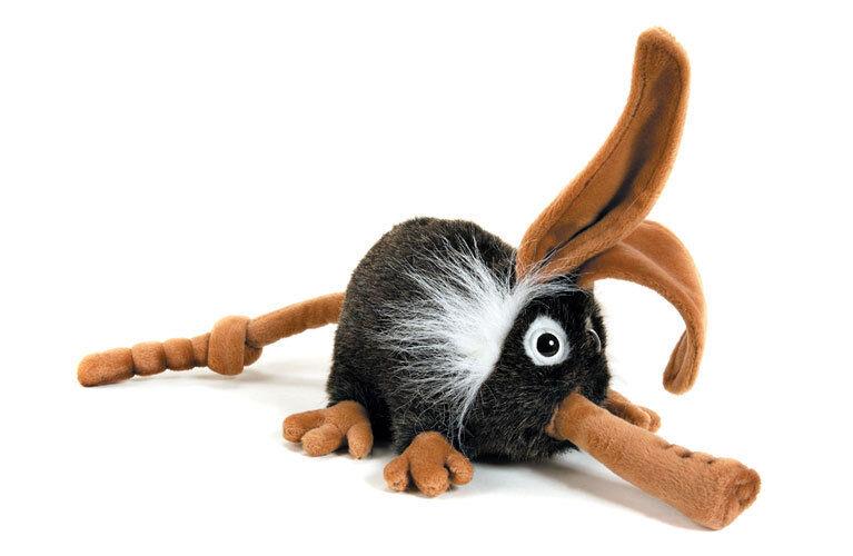 Madera hog   woodhog coleccionable peluche realista blando mercado de hansa