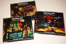 Metallica: U.K. import 3 cd set (no leaf clover) rare out of print