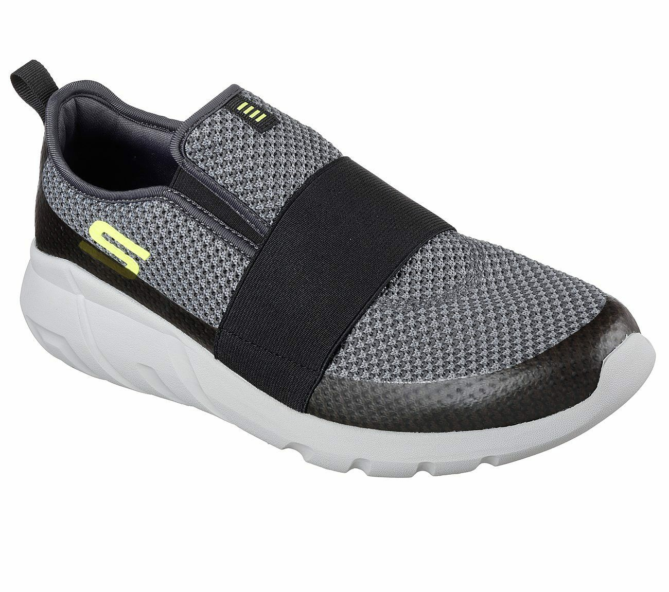 Skechers Men's Dilley Charcoal/Lime 52806/CCLM New