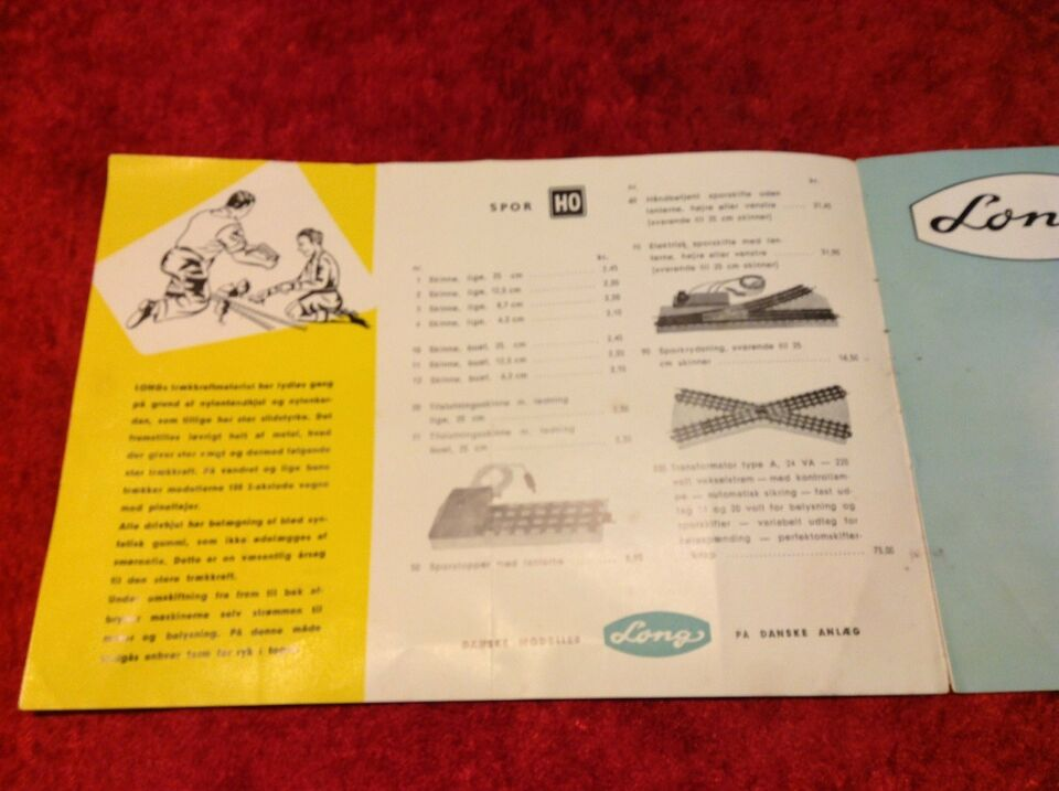 Modelbane, Long Katalog, skala H0