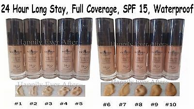 Long Stay Make Up Foundation- Waterproof, SPF 15, Full Coverage *US SELL*