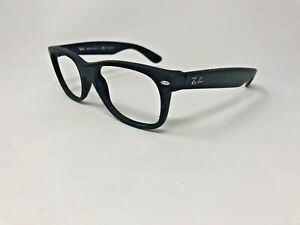 RAY-BAN-NEW-WAYFARER-Sunglasses-Frame-Italy-RB2132-622-58-55-18mm-Black-CH78