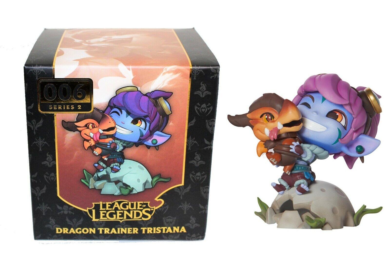 Dragon Trainer Tristana Figure - AUTHENTIC League of Legends - Riot Games LOL
