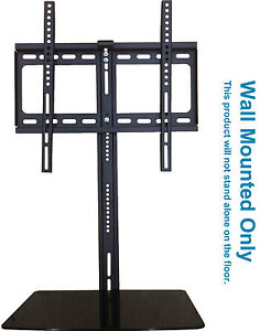 "TV Wall Mounted Bracket 20"" - 52"" with Glass Floating ..."