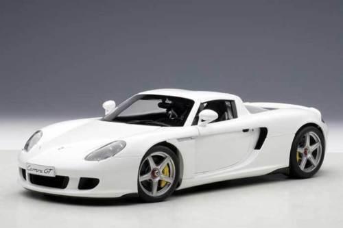 1 18 Autoart Porsche Carrera Gt Bianco - Promozioni  Vetrina senza Prezzo