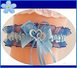 satin-jarretiere-bleu-bleu-fonce-2-coeurs-satin-organza-ruban-mariee-UE