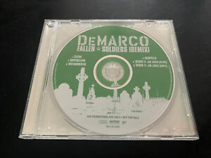 NEW - Demarco – Fallen Soldiers (Remix) Promo CD Single Jim Jones Koch Hip-Hop
