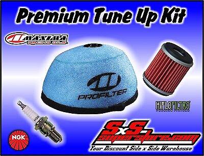 Maxima PRO Pre-Oiled Ready to Use Air Filter /& NGK Spark Plug Honda CR85 CR80