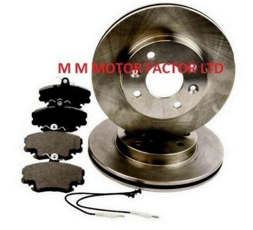1.5 /& 1.6 DCi Dynamique Front Brake Discs /& Pads 1.2 Renault Clio Mk2 1998/>