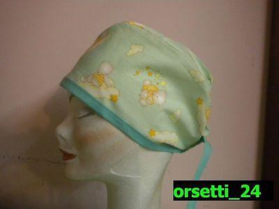 betty/_boop/_02 Surgical cap Bandana Cuffia chirurgica Sottocasco