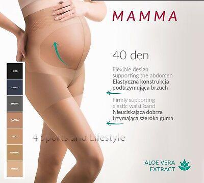 Honig Maternity,pregnancy Tights Gabriella Mamma 40/20 Den Antipressure, Reinforcement