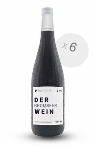 6er Box DER BROMBEERWEIN 1L 12,5 % Vol. Frucht-Dessertwein